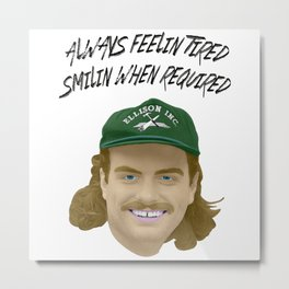 Mac DeMarco - Always Feelin Tired Metal Print