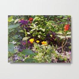 Floral Print 004 Metal Print