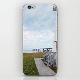 Bridge and Lighthouse iPhone Skin