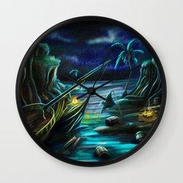 Shipwrecked! Wall Clock