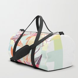 Morning Flower Division Duffle Bag