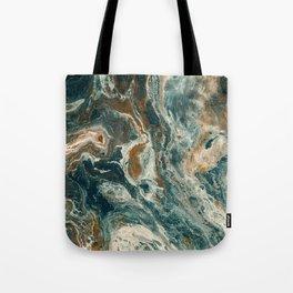 Agate Sea Tote Bag