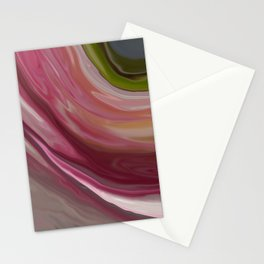 Linnea Flower Abstract Stationery Cards