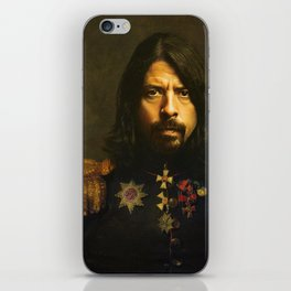 Dave Grohl - replaceface iPhone Skin