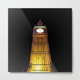 Big Ben – Paint & Poster Effect Metal Print