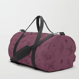 Herbs and Berries Duffle Bag