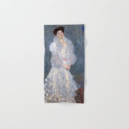 "Gustav Klimt ""Portrait de Hermine Gallia"" Hand & Bath Towel"