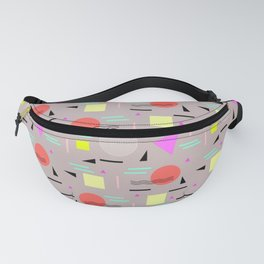 Memphis Forever - Taupe Fanny Pack