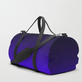Deep Dark Indigo Ombre Duffle Bag