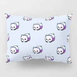 Kawaii Galactic Mighty Panda pattern Pillow Sham