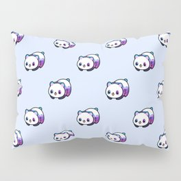 Kawaii Galactic Mighty Panda pattern Pillow Sham
