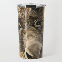 Donkey Art, Up Close Donkey Art Travel Mug
