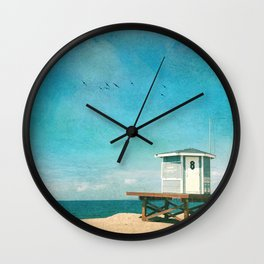 Number 8 Wall Clock