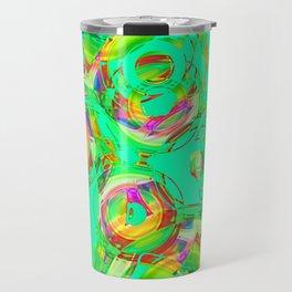 Abstract HJ Y Travel Mug