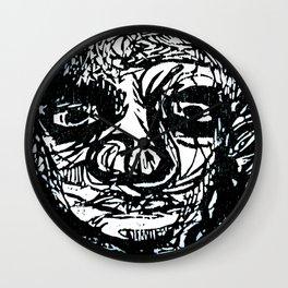 Face creature Wall Clock