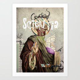 Scientia Art Print