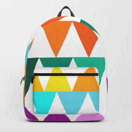 Triangles of Color Backpack