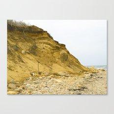 Montauk Beach Sand Dune Canvas Print