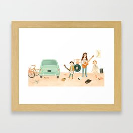 The Band by Emily Winfield Martin Framed Art Print
