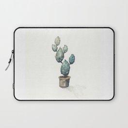 Green-Blue Cactus Laptop Sleeve