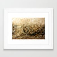 dune Framed Art Prints featuring Dune by woman