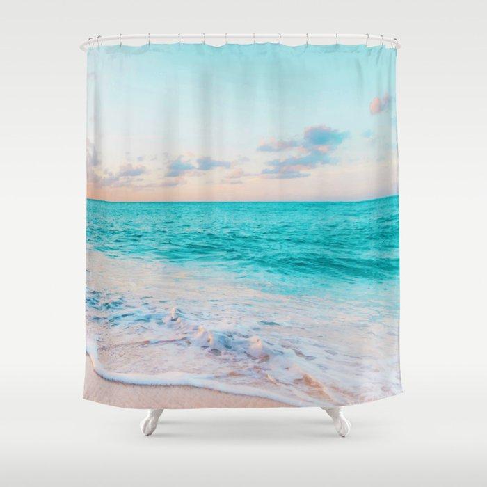 Ocean Bliss #society6 #society6artprint #buyart Shower Curtain
