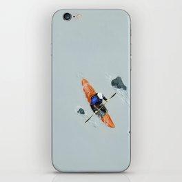 Solitude- Kayaker iPhone Skin