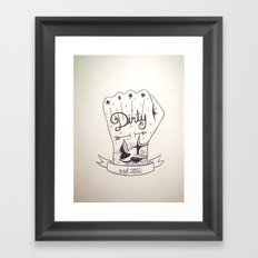 Dirty - Dirty Framed Art Print
