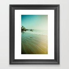 CDM Waves. Framed Art Print