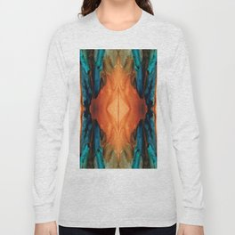 The Great Spirit - Abstract Art By Sharon Cummings Long Sleeve T-shirt