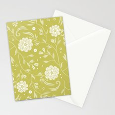 Sunny floral pattern Stationery Cards