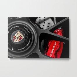 911 Wheel Metal Print