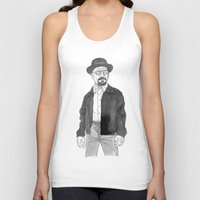 heisenberg Tank Tops featuring Heisenberg by Andy Christofi