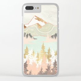 Winter Bay Clear iPhone Case