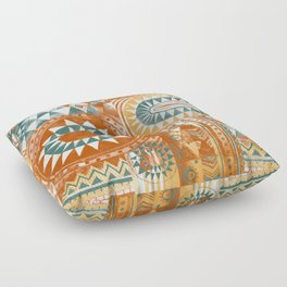 Tribal Bohemian Mosaic Floor Pillow