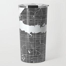 Bradenton USA Modern Map Art Print Travel Mug