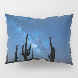 Galactic Cacti Pillow Sham