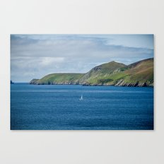 Sailboat by the Blasket Islands Canvas Print