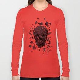 Exploded skull color Long Sleeve T-shirt