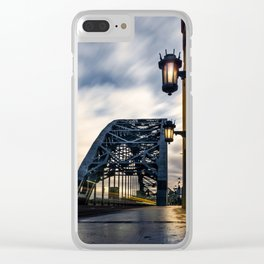 Tyneside Drifter Clear iPhone Case