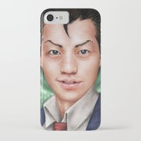 ace attorney iPhone & iPod Cases featuring Ace Attorney by Cat Allen