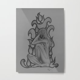 Alight Metal Print