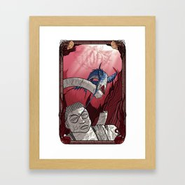 Lost Undersea Framed Art Print