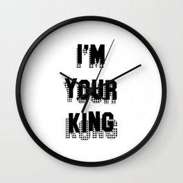 I'm your King (Kong) Wall Clock