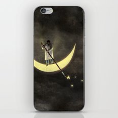 Painting The Stars iPhone & iPod Skin