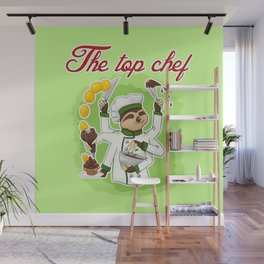Commissions | Sloth Chef Wall Mural