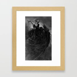Vs me Framed Art Print