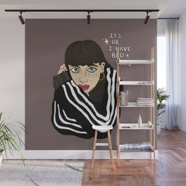 It's ok to have bad days Wall Mural