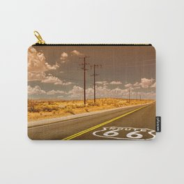 U.S. Route 66 highway. Carry-All Pouch