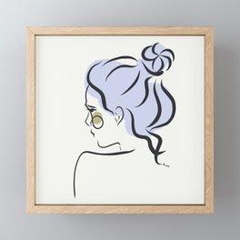 chonguito Framed Mini Art Print